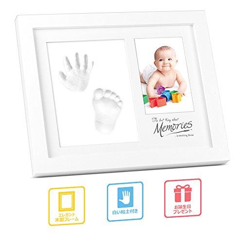 multifun手形フレーム ベビー記念品 ベビープリント手足型 誕生記念 出産祝い メモリアル 写真立て