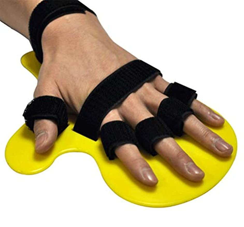 十分ではない伝染性の献身研修会フィンガースプリント指リハビリテーション指インソール指、機器医療の手の手首の装具デバイスを指