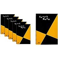 マルマン スケッチブック 図案シリーズ A3 画用紙 5冊 S115x5 SET & スケッチブック 図案シリーズ A3 画用紙 S115