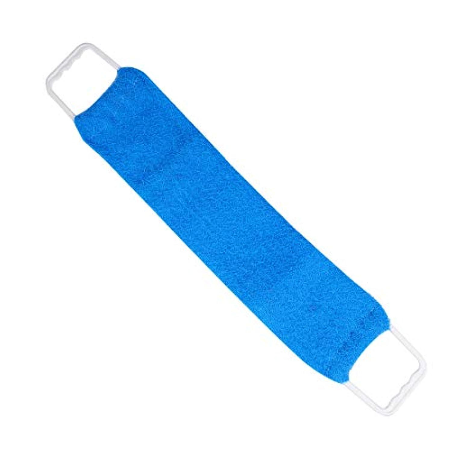 阻害する面積パーティーHealifty ビューティースキンウォッシュクロスバススクラバーラブタオル両面引き剥がしストリップシャワーラブバックベルトバスタオル(ランダムカラー)