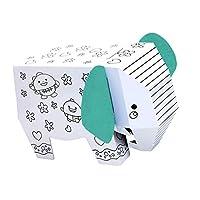 ジグソーパズル パズル 動物モデル 装飾のおもちゃ 子供 ホビー 贈り物 全2種類 - 象