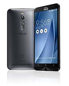 【国内正規品】ASUSTek ZenFone2 ( SIMフリー / Android5.0 / 5.5型ワイド / デュアルmicroSIM / LTE ) (グレー, 2GB/32GB) ZE551ML-GY32