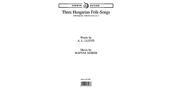 Amazon | Matyas Seiber: Three ...