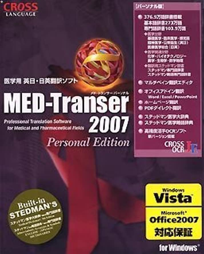 MED-Transer 2007 パーソナル for Windows