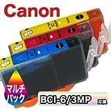 互換インク CANON BCI-6/3MP (3色セット) キヤノン インクジェットプリンタ用インク