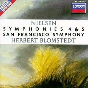 Nielsen;Symphonies Nos.4&5