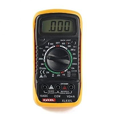 XL830L Volt Testing LCD Digital Multimeter, Multi-Tester