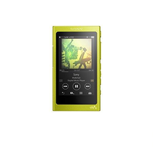 ソニー SONY ウォークマン Aシリーズ NW-A36HN : 32GB ハイレゾ/Bluetooth/microSD対応 ノイズキャンセリング機能搭載 ハイレゾ対応イヤホン付属 ライムイエロー NW-A36HN Y