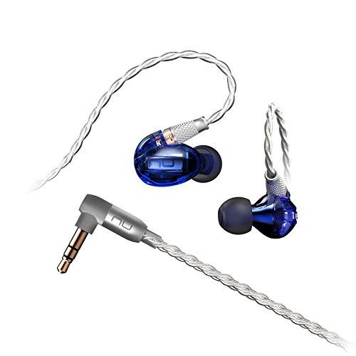 Optoma / NU FORCE HEM1イヤホン ハイレゾ 対応 Hi-Res Audio対応 Knowles社製 バランスドアーマチュアドライバー BA型 カナル型 重低音 高音質 高遮音性【国内正規品】 メーカー1年保証 (Blue)