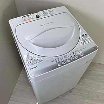 東芝 4.2kg 全自動洗濯機 ピュアホワイトTOSHIBA AW-42SM-W