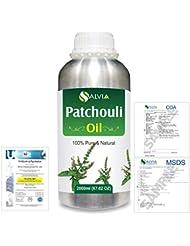 Patchouli (Pogostemon cablin) 100% Natural Pure Essential Oil 2000ml/67 fl.oz.