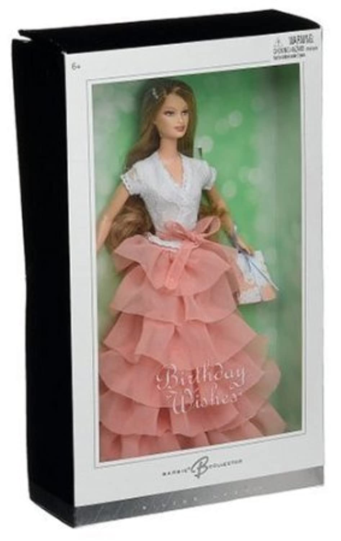 Birthday Wishes Barbie(バービー) - Peach ドール 人形 フィギュア(並行輸入)