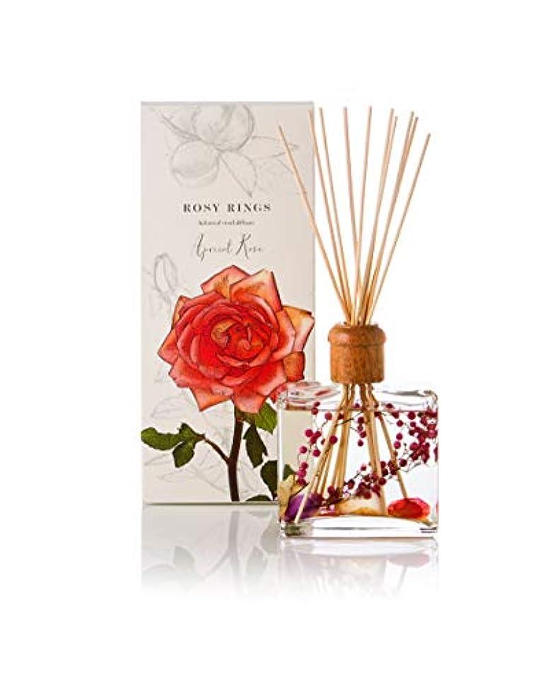 赤道使い込む心配Rosy Rings Botanical Reed Diffuser - Apricot Rose 13oz