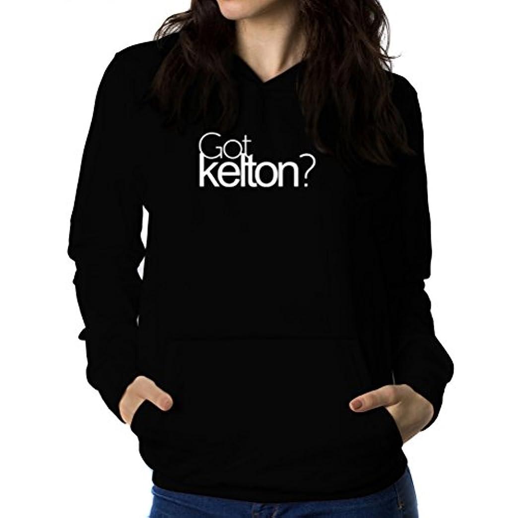 パーセント証明責任Got Kelton? 女性 フーディー