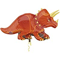Amscan 3224901 42 x 24-inch Triceratops Super Shape Foil Balloons