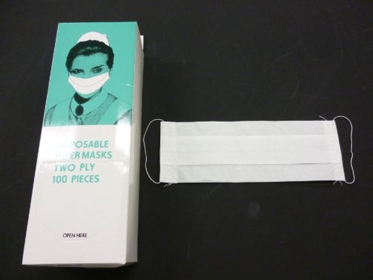 眠り関与するパスポートペーパーマスク 2P 100枚