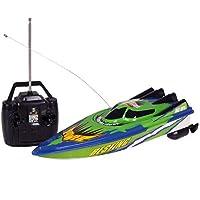 DeeploveUU ラジオリモートコントロールデュアルモータースピードボートRCレーシングボート高速強力パワーシステム流体タイプデザイン