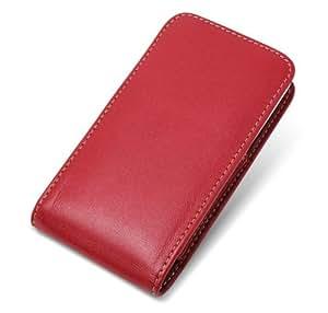 ミヤビックス PDAIR レザーケース for HTC J ISW13HT バーティカルポーチタイプ(レッド) PALCISW13HTV/RD