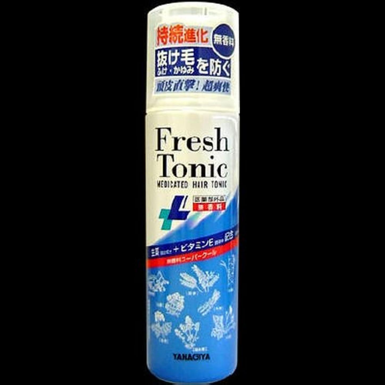 無駄な忠実なトロリー【まとめ買い】柳屋 薬用育毛フレッシュトニック無香料SC 190g ×2セット