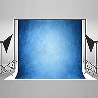 Kate 7x5フィート 抽象写真背景 ブルー 抽象的な背景 写真 ポートレート 写真撮影用 背景