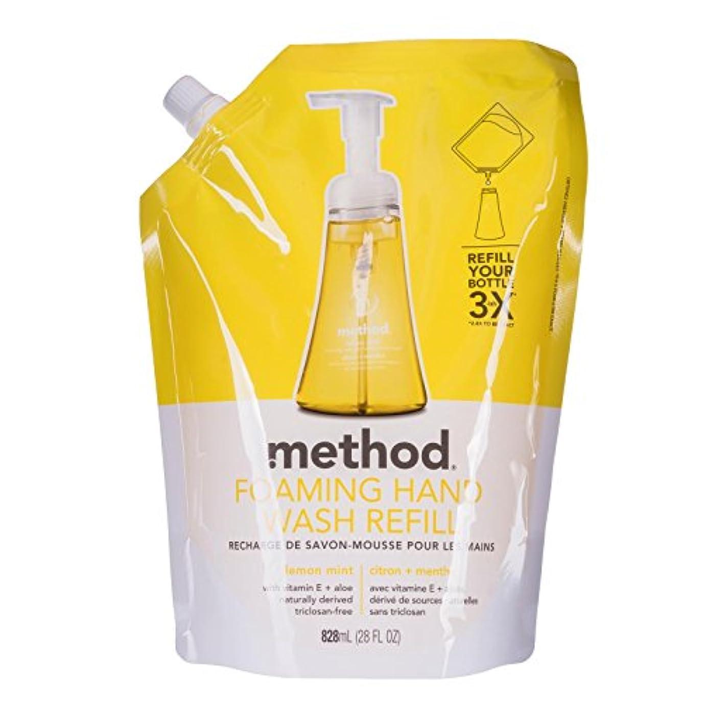 酸化物欠乏ナビゲーションメソッド ハンドソープ フォーミングタイプ リフィル レモンミント828mL