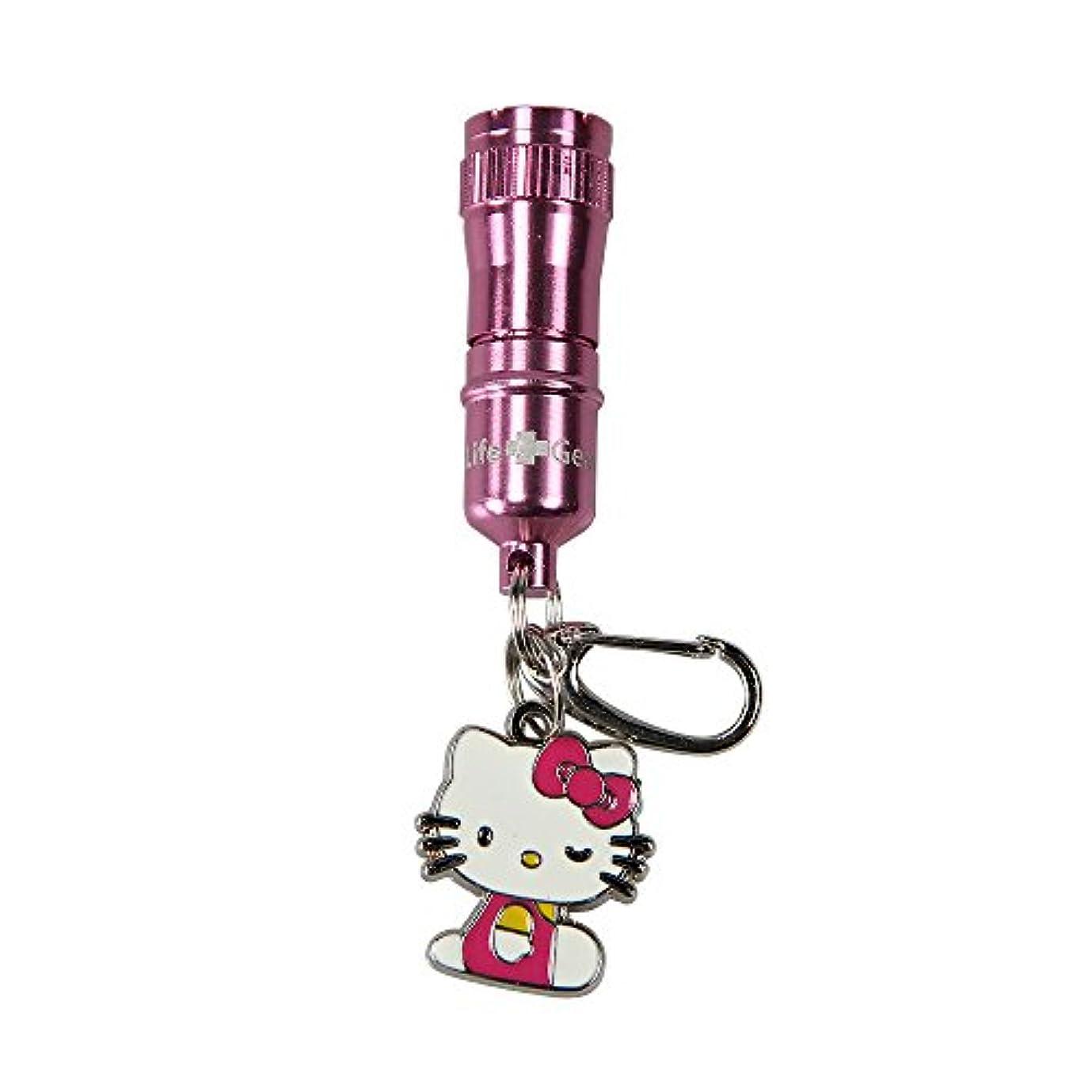 論争の的苦い田舎Life Gear Hello Kitty Aluminum Flashlight Key Chain by Life Gear
