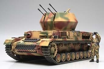 タミヤ 1/48 ミリタリーミニチュアシリーズ No.44 ドイツ陸軍 IV号対空戦車 ヴィルベルヴィント プラモデル 32544