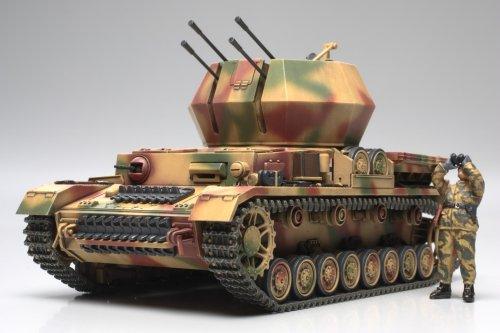タミヤ 1/48 No.44 ドイツ陸軍 IV号対空戦車 ヴィルベルヴィント