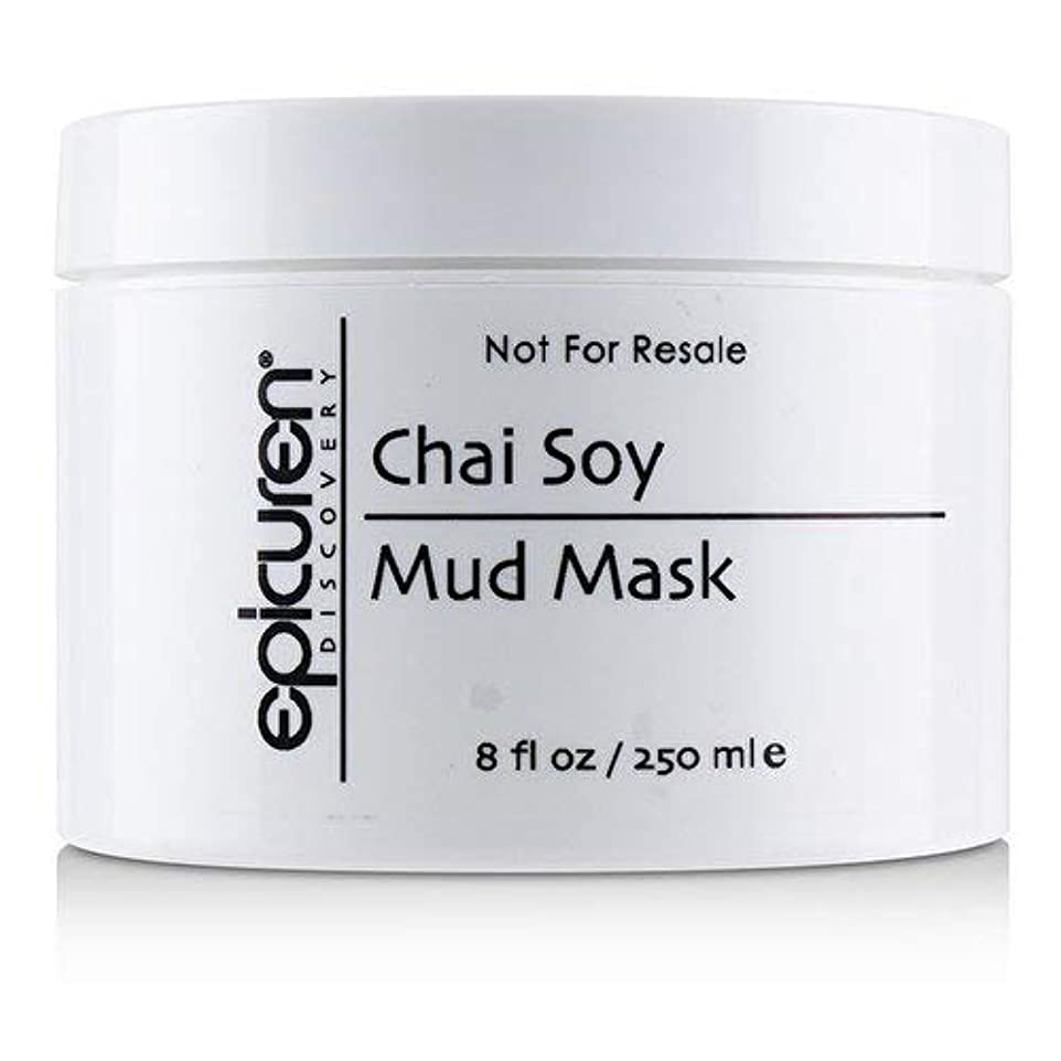 ポット貸す純正Epicuren Chai Soy Mud Mask - For Oily Skin Types (Salon Size) 250ml/8oz並行輸入品