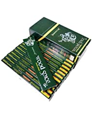 NANDITA(ナンディータ) ウッドスパイス香 スティック WOOD SPICE 12箱セット