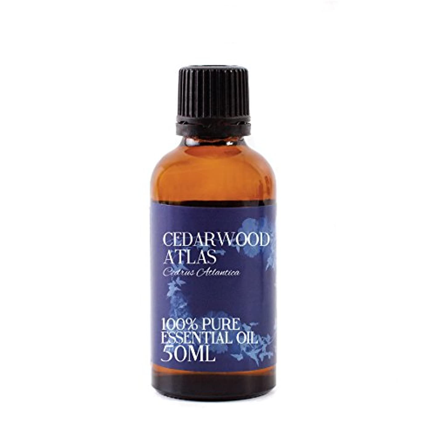 驚かすチャネル慣習Mystic Moments | Cedarwood Atlas Essential Oil - 50ml - 100% Pure