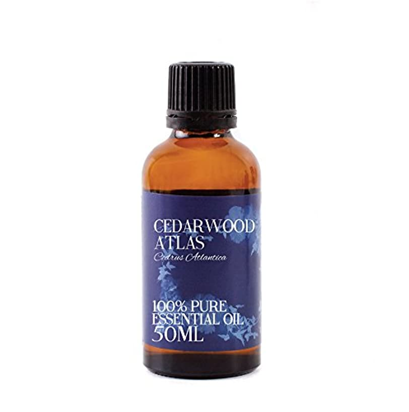 敗北人差し指強大なMystic Moments | Cedarwood Atlas Essential Oil - 50ml - 100% Pure