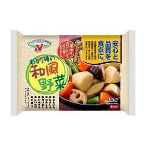 【10パック】 冷凍 野菜 和風野菜 400g ニチレイ