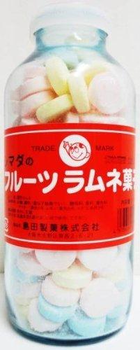 シマダのフルーツラムネ菓子250g(瓶)