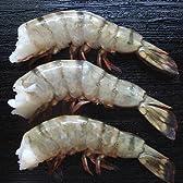 (エビ えび 海老 BBQ) ブラックタイガー殻付海老無頭11cm(16~20尾/450g)