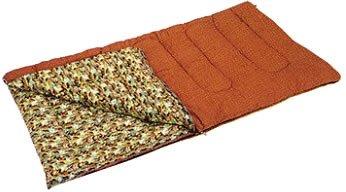 キャプテンスタッグ 寝袋 冬用 シュラフ キングサイズ [最低使用温度5度]M-3414