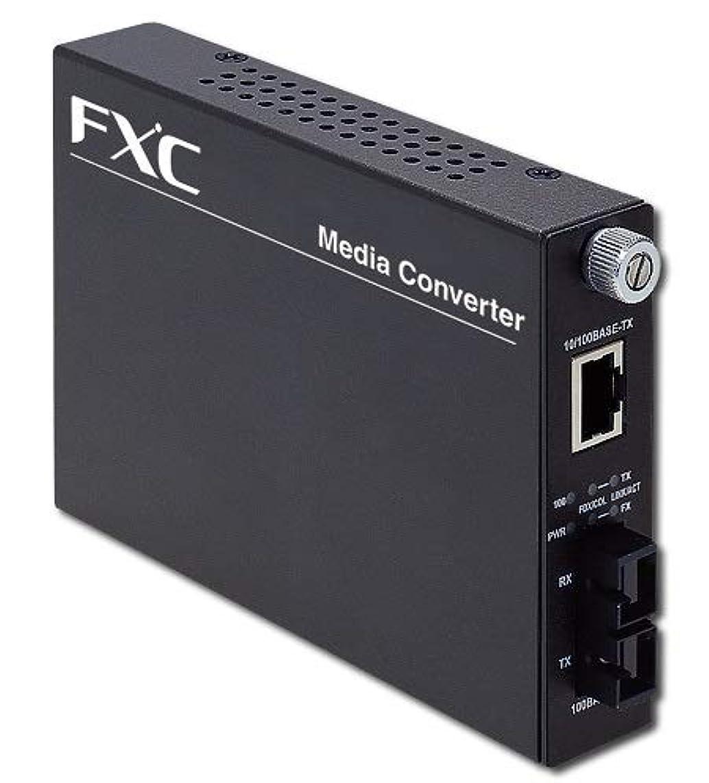 壁紙外国人情熱FXC 10BASE-T/100BASE-TX to 100BASE-FX (マルチモード SCコネクタ 2Km) 2芯型スマートメディアコンバータ MC201FMSC