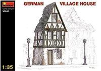 ミニアート 1/35 ドイツの農村の家 ジオラマアクセサリー MA35012 プラモデル