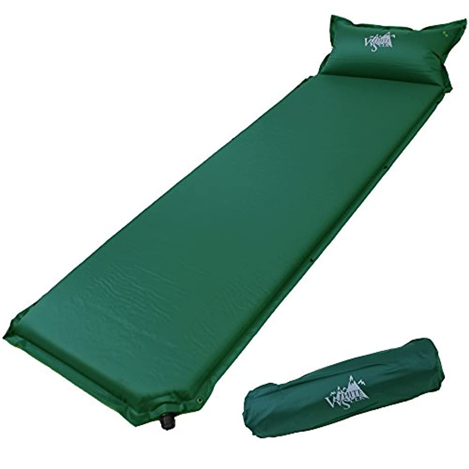 試用加速する解放するWhite Seek キャンプマット 厚さ 5cm 寝袋マット エアマット マットレス 車中泊 防災