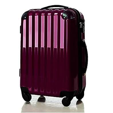スーツケース大型・超軽量・Lサイズ・TSAロック搭載 6202L アウトレット新品 (パープル)