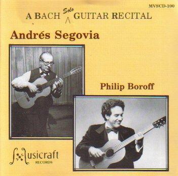 Bach Solo Guitar Recital