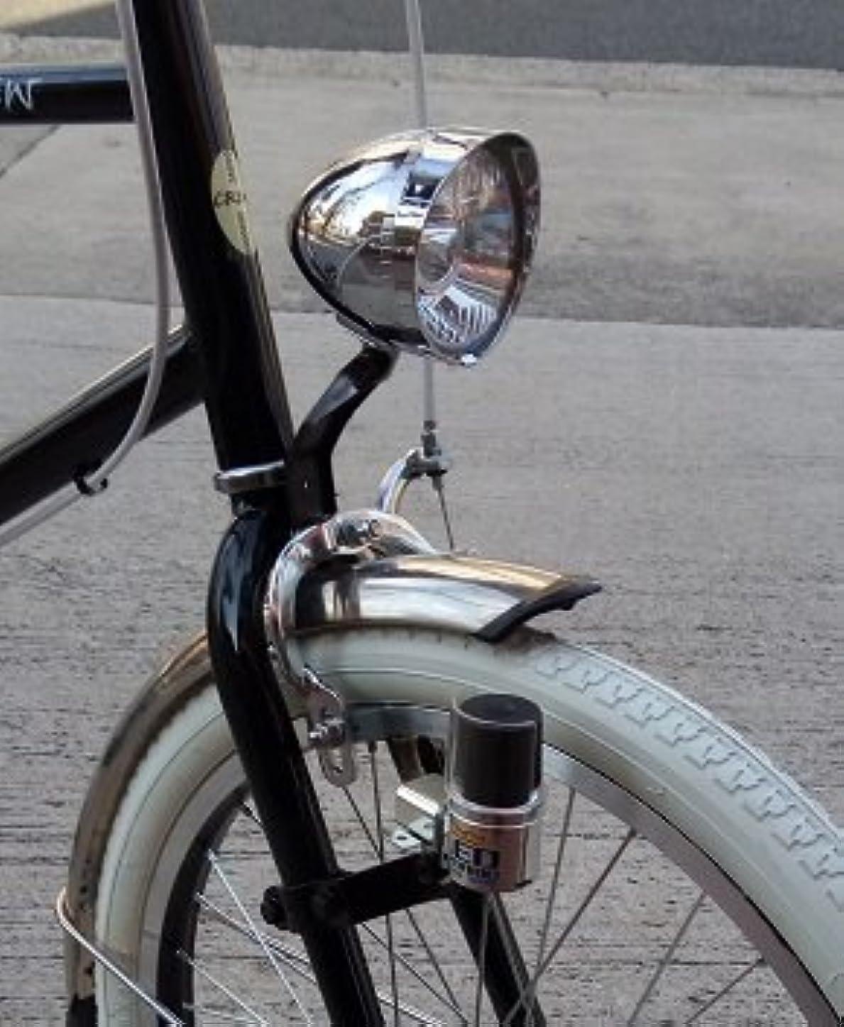 ではごきげんようギネス考古学クロスバイク、MTB、小径車向き。LEDスポーツダイナモセット CB1型