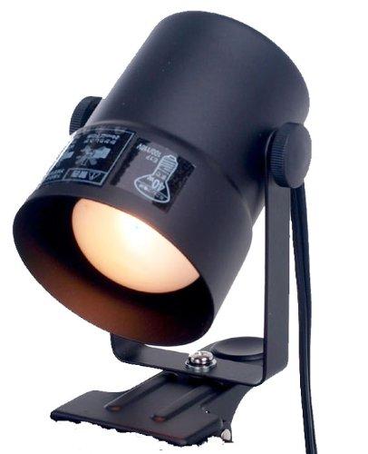 RoomClip商品情報 - ELPA クリップライト 40W ショート ブラック SPOT-CR40(BK)