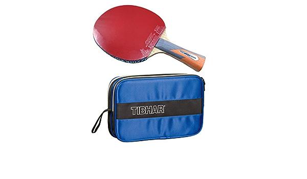 Tibhar Century Case Yinhe Earth II Table Tennis Racket Reactor Complete Set SW-6