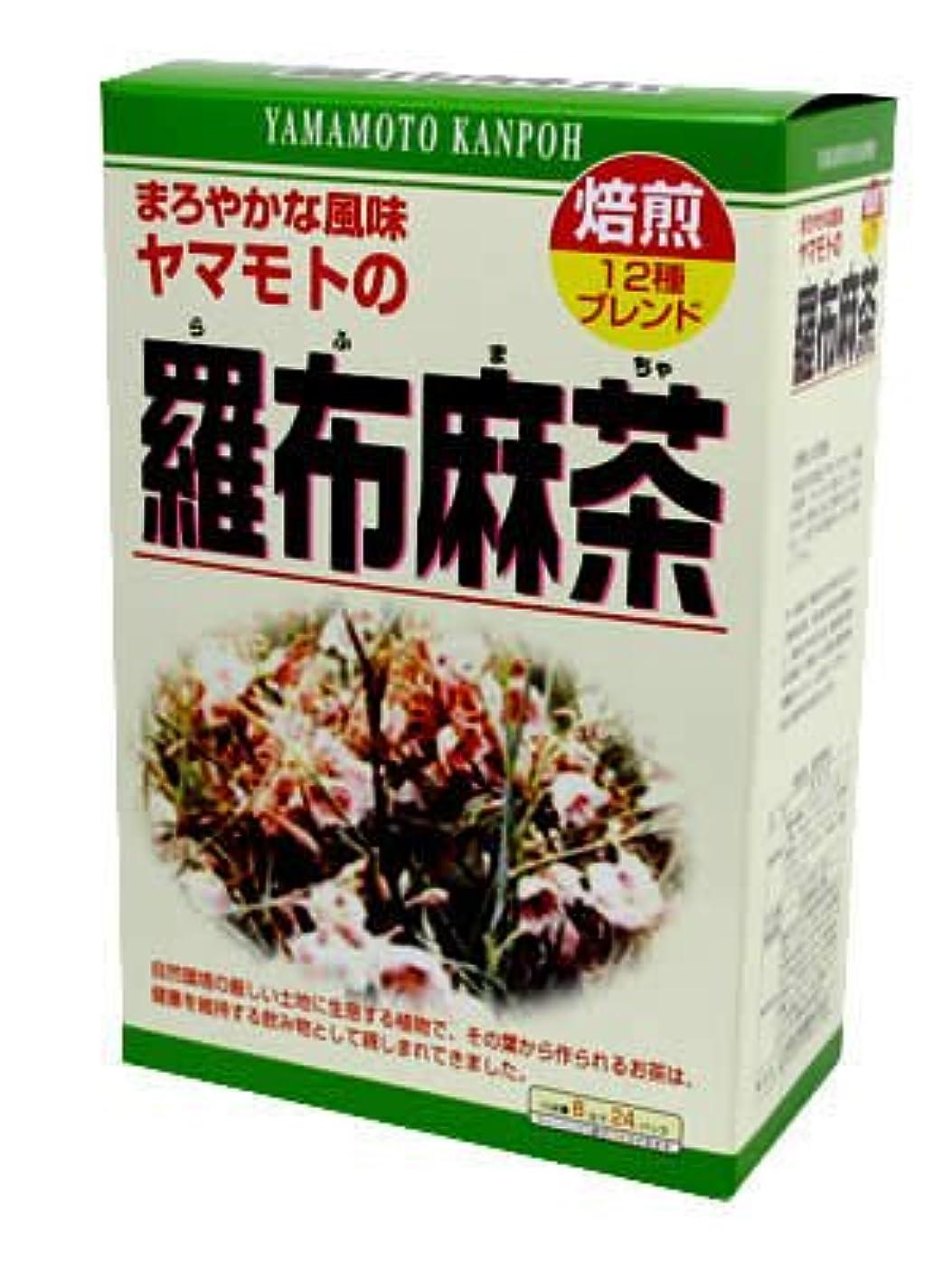 補助道徳カーペット山本漢方製薬 羅布麻茶 8gx24H