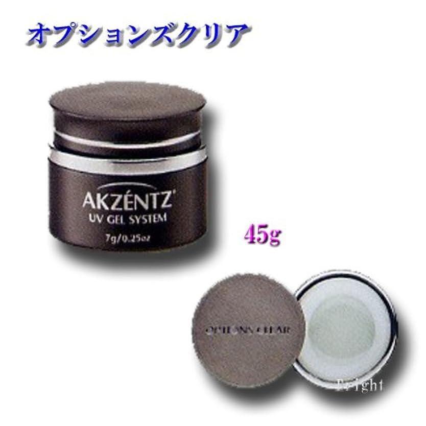 悪因子乳製品ケーキアクセンツ(AKZENTZ) オプションズ クリア 45g