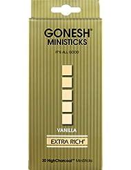 GONESH ミニスティック VANILLA 30本入 X 2個セット