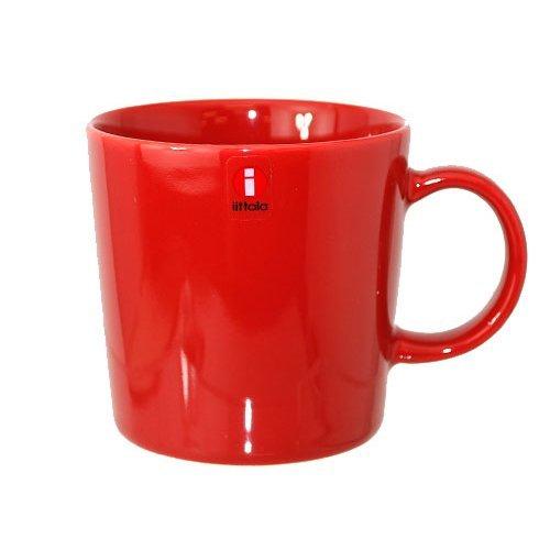 [イッタラ]iittala 017053 Teema ティーマ マグカップ 300ml RED レッド [並行輸入品]