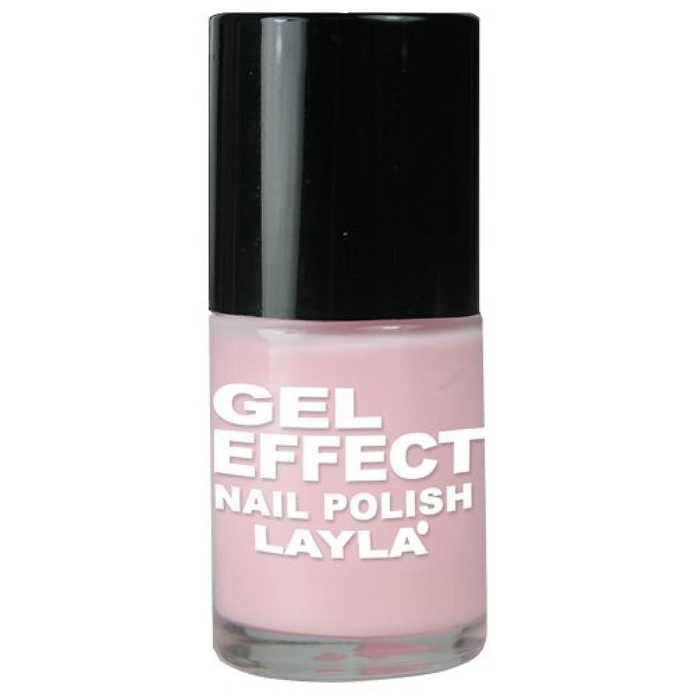 掃除脈拍罹患率Layla Gel Effect N02 Pinky Doll Nail Polish