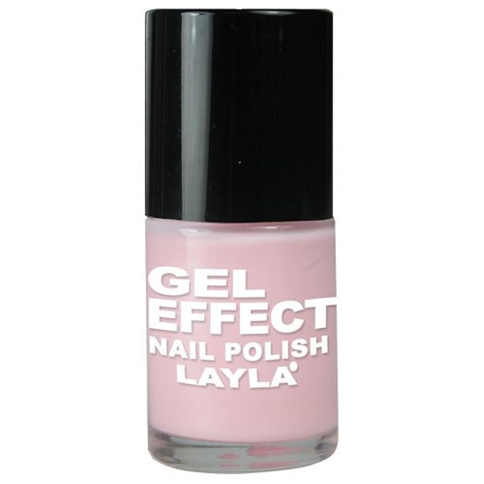 血まみれ赤ホールLayla Gel Effect N02 Pinky Doll Nail Polish